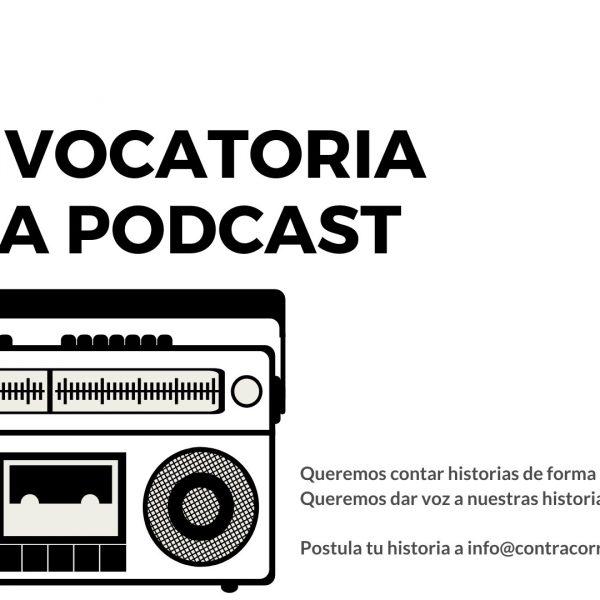 convocatoria podcast