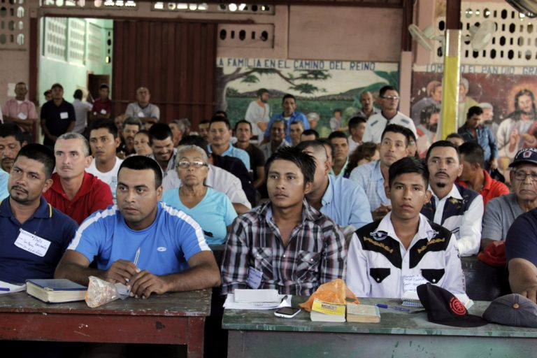 Asamblea de líderes de la Parroquia San Isidro Labrador de El Rama