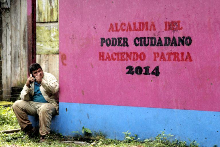 El eslogan de gobierno «Poder Ciudadano»