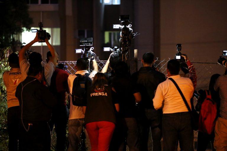 Miembros de la prensa nacional