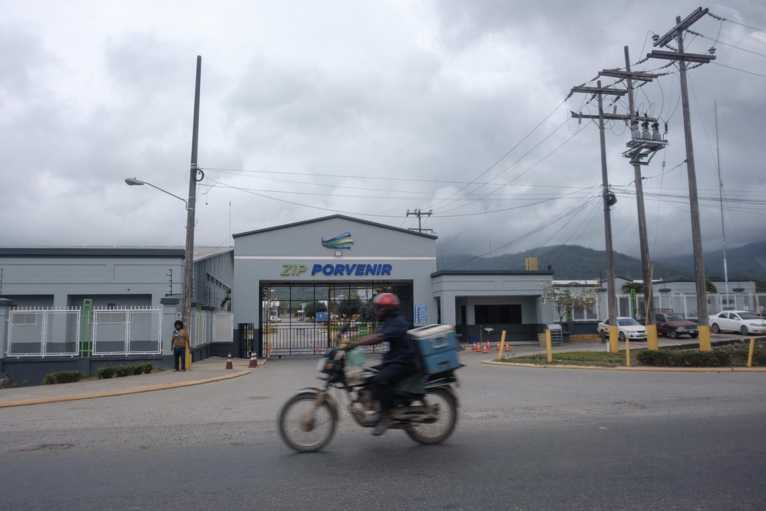 Parque industrial Zip Porvenir ubicado en la parte norte del municipio de El Progreso.
