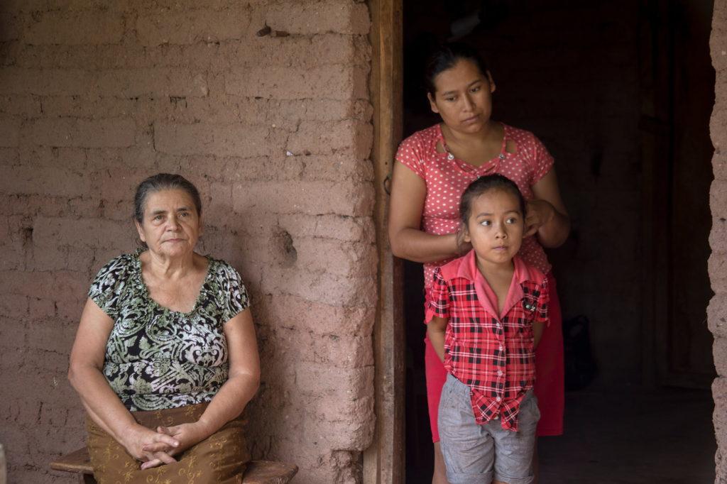 niños migrantes   migrar de Honduras   comunidad rural