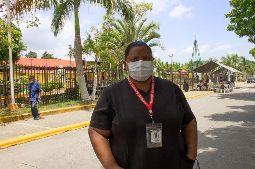Ana Lucía Galo, enfermera.