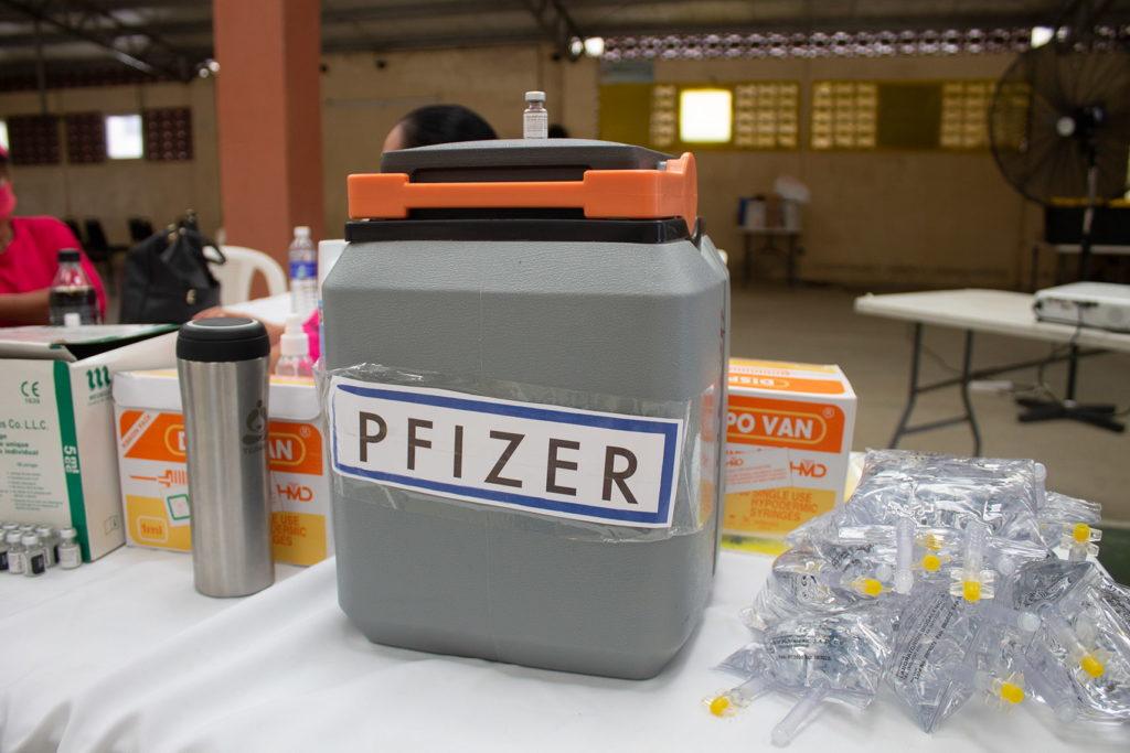 Termo porta vacuna Pfizer