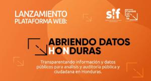 Abriendo datos honduras | #AbriendoDatosHN