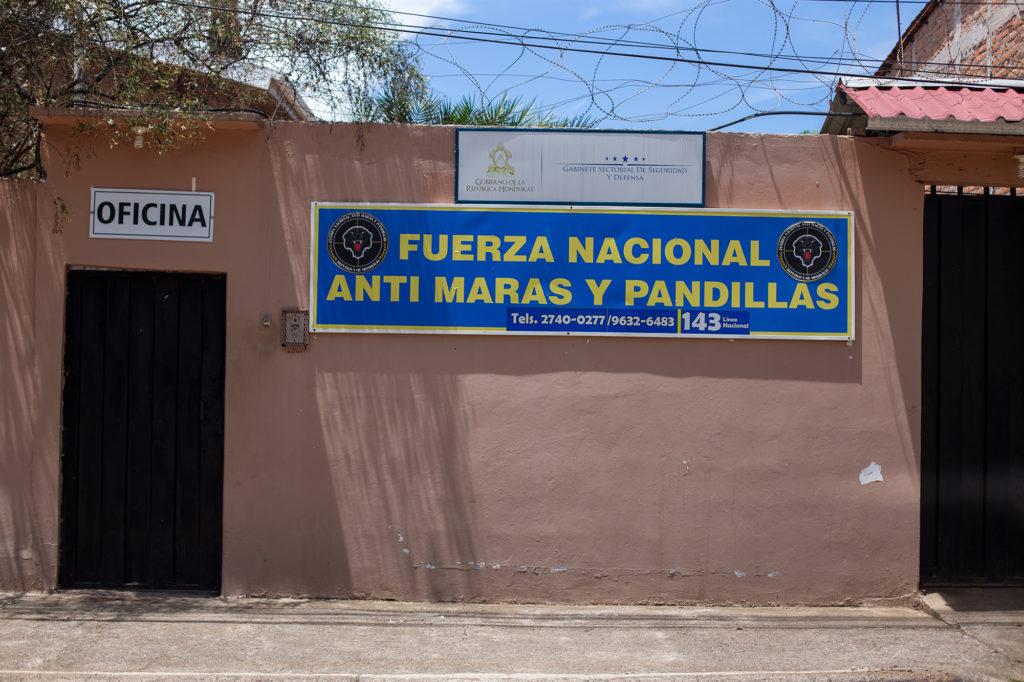 FNAMP Comayagua | Fuerza Nacional Anti Maras y Pandillas