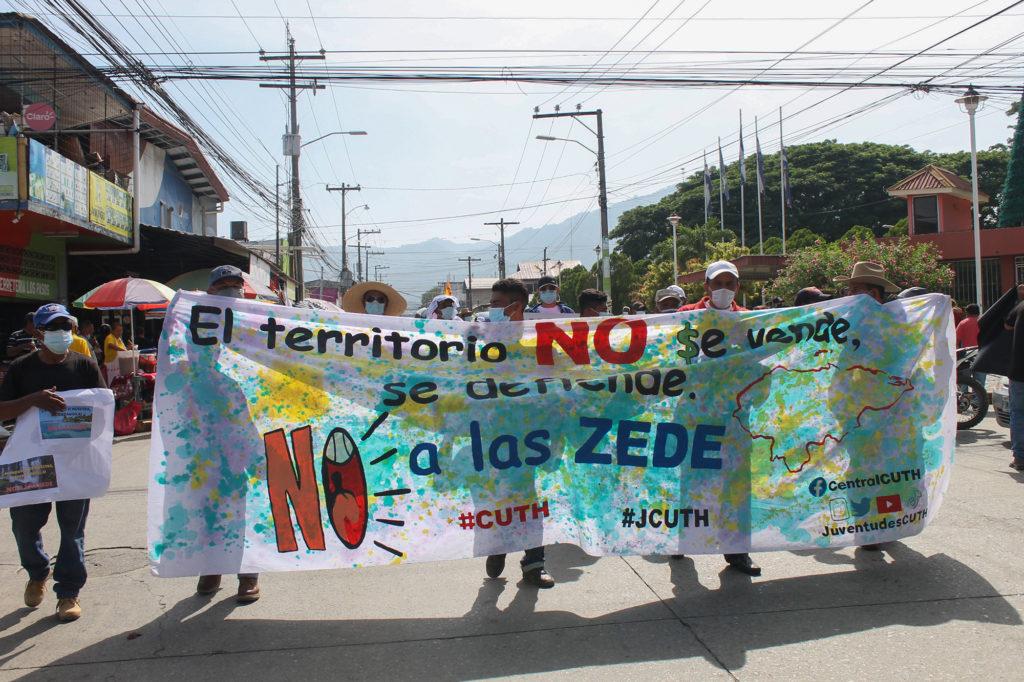 zedes honduras 2021 | Contra ZEDE El Progreso, Yoro | Movilización ZEDE EL Progreso