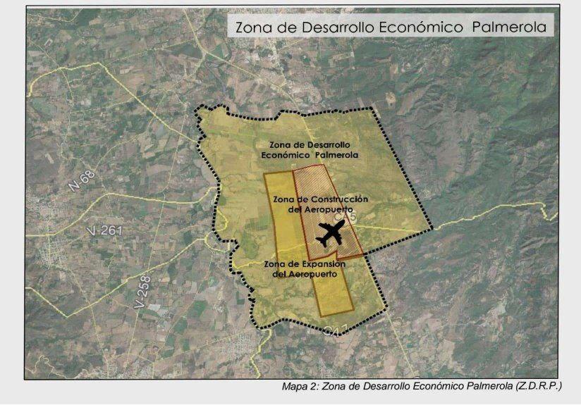 mapa del Palmerola