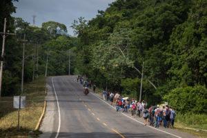 caravana del migrante | 2021 | Honduras | San Pedro Sula