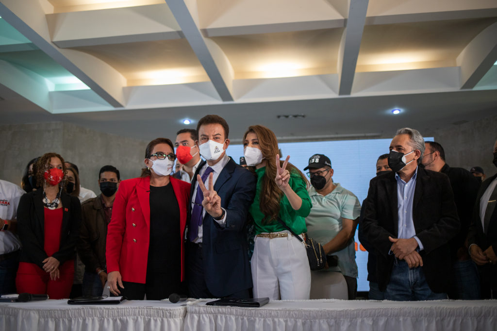 alianza Xiomara Castro y Salvador Nasralla   PSH   Salvador de Honduras   Libre   2021
