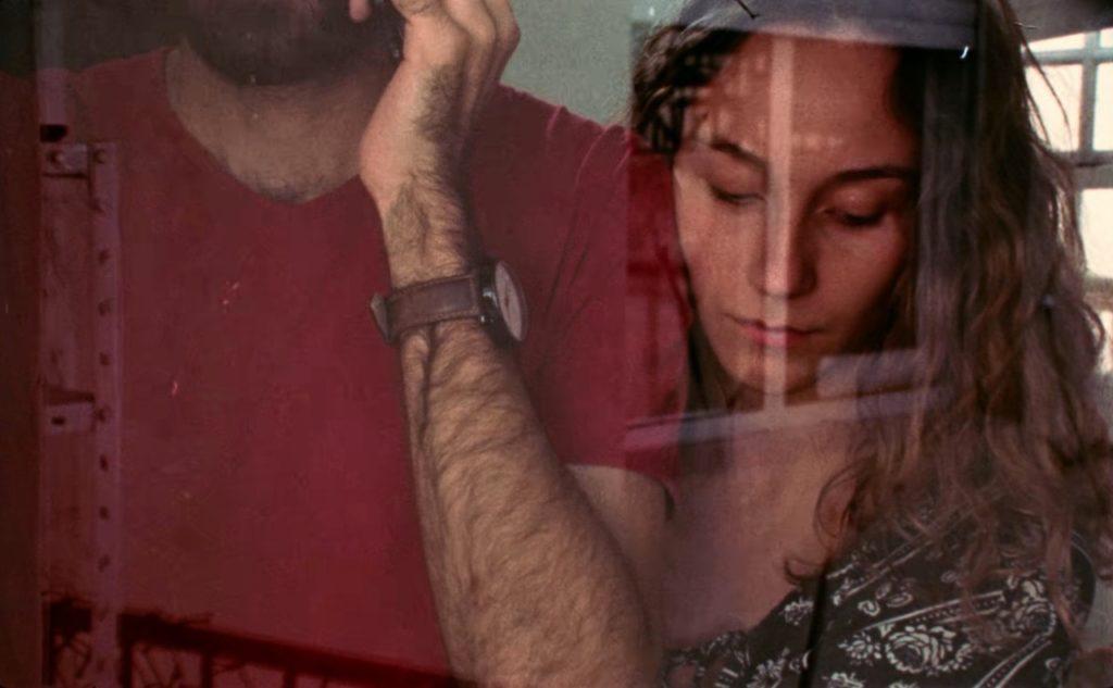 Toma del cortometraje Rubicón, dirigido por Manuel Muñoz y seleccionado para el Festival Ícaro regional.