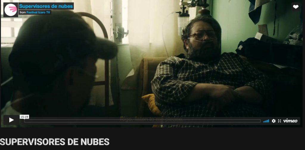 Toma del cortometraje Los supervisores de nubes, dirigido por William Aguilar y patrocinado por el CNA.